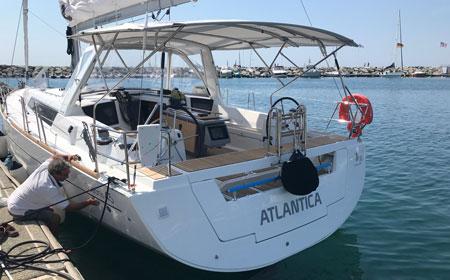 Stern view Atlantica, June 2018